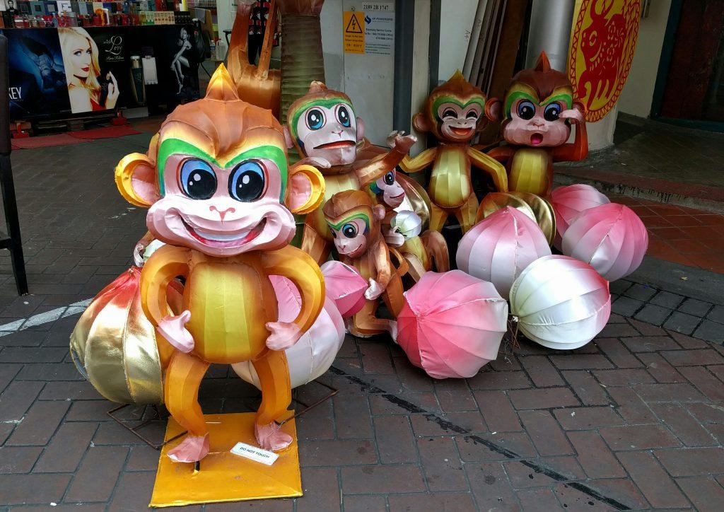 Im chinesischen Jahr des Affen