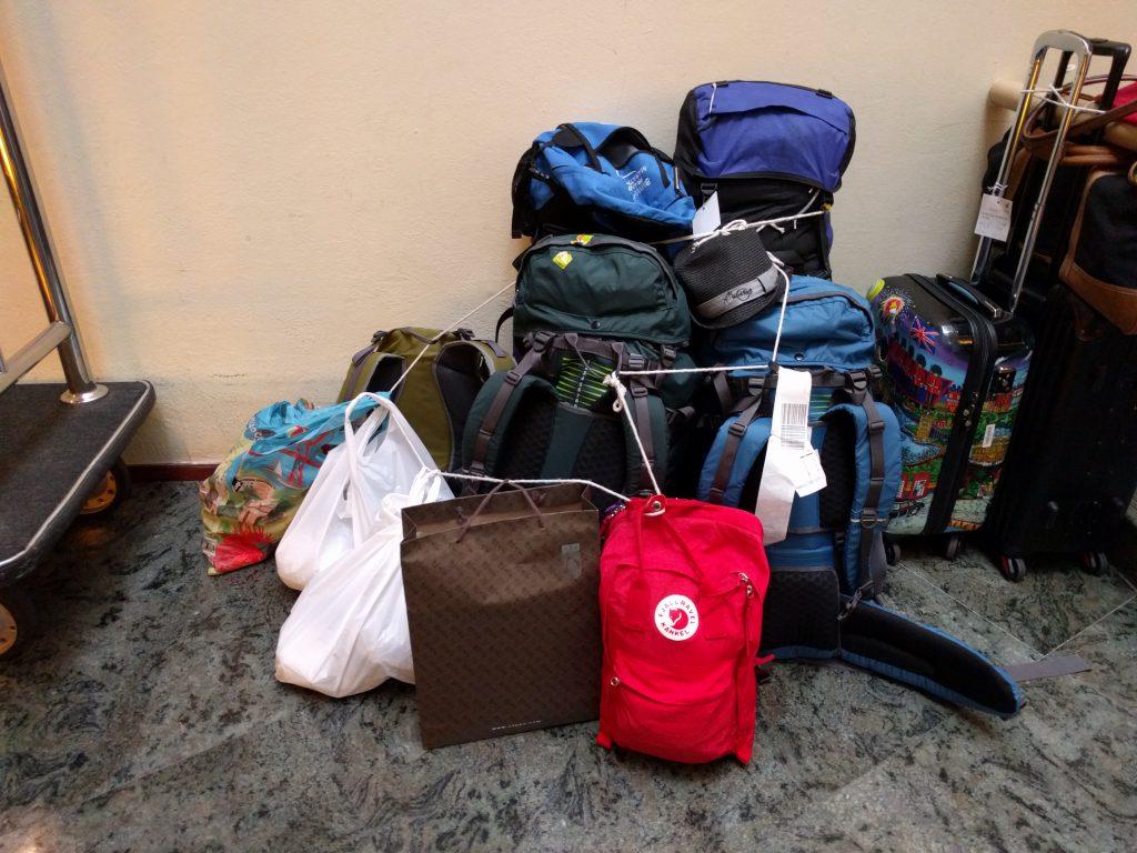 Unser Gepäck